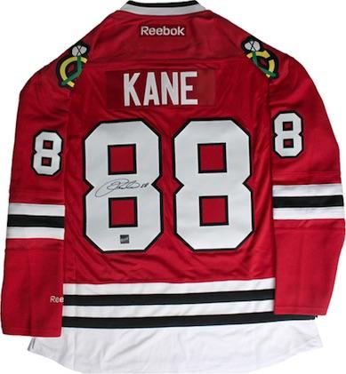 Patrick Kane Chicago Blackhawks Signed Jersey