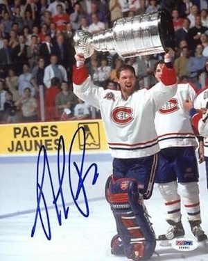 Patrick Roy Montreal Canadiens Signed Photo