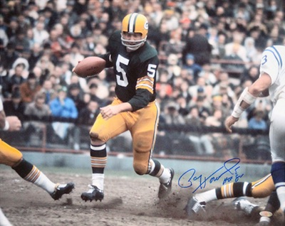 Paul Hornung Green Bay Packers Signed Photo