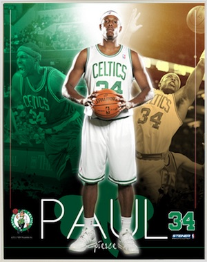 Paul Pierce Boston Celtics Framed Collage
