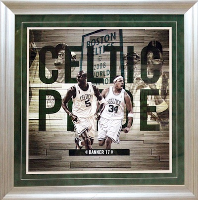 Paul Pierce, Kevin Garnett Boston Celtics Celtic Pride Framed Collage