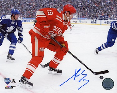 Pavel Datsyuk Detroit Red Wings Signed Photo