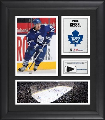 Phil Kessel Toronto Maple Leafs Framed Collage with Game-Used Puck