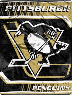 Pittsburgh Penguins Fleece Blanket Throw