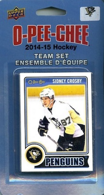 Pittsburgh Penguins Team Card Set