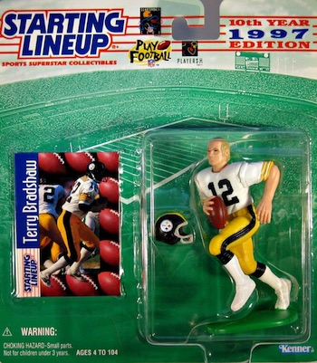 Pittsburgh Steelers Starting Lineup Terry Bradshaw