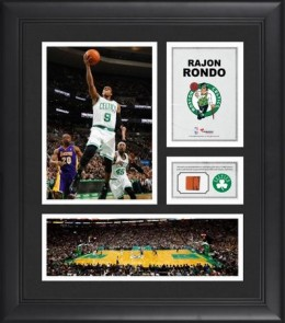 Rajon Rondo Boston Celtics Framed Collage