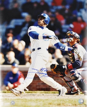 Sammy Sosa Chicago Cubs Signed Photo