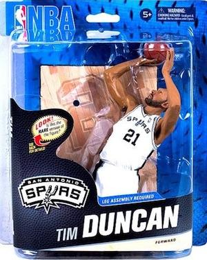 San Antonio Spurs Mcfarlane Tim Duncan