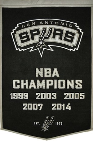 San Antonio Spurs Team Banner