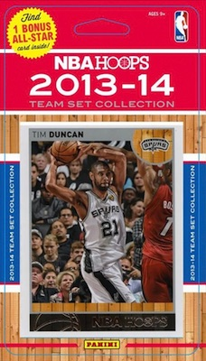 San Antonio Spurs Team Card Set