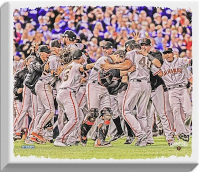 San Francisco Giants 2014 World Series Champions Canvas