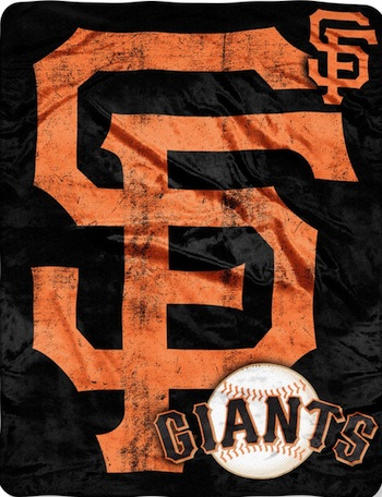 San Francisco Giants Fleece Blanket Throw