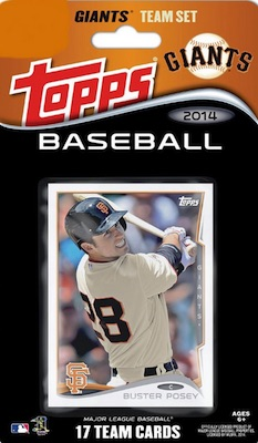 San Francisco Giants Team Card Sets