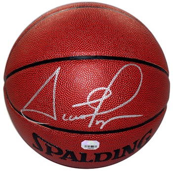 Scottie Pippen Chicago Bulls Signed Basketball