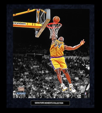 Shaquille O'Neal Los Angeles Lakers Framed Photograph