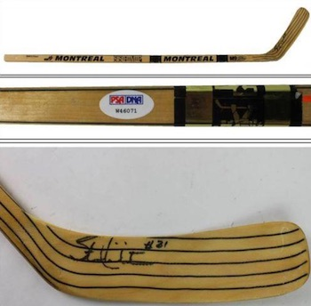 Stan Mikita Chicago Blackhawks Signed Stick