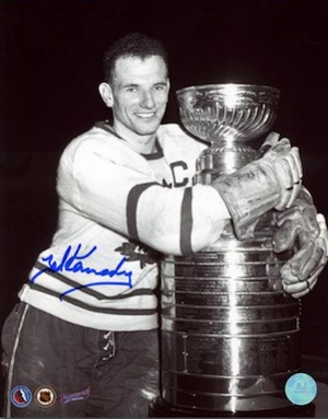 Teeder Kennedy Toronto Maple Leafs Signed Photo
