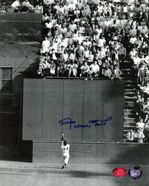 Willie Mays San Francisco Giants Signed Photo