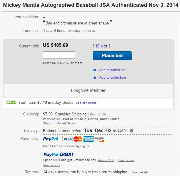 Top 5 Tips for New eBay Trading Card and Memorabilia Buyers 8