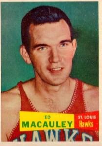 1957-58 Topps Ed Macauley RC #27