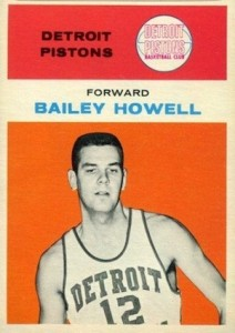 1961-62 Fleer Bailey Howell RC #20