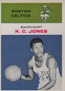 1961-62 Fleer K.C. Jones RC #22