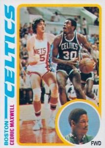 1978-79 Topps Cedric Maxwell RC #128