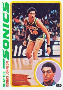 1978-79 Topps Dennis Johnson RC #78