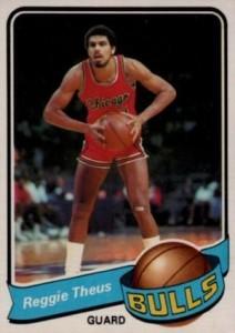 1979-80 Topps Reggie Theus RC #44