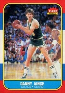 1986-87 Fleer Danny Ainge RC #4