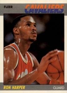 1987-88 Fleer Ron Harper RC #49