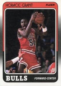 1988-89 Fleer Horace Grant RC #16