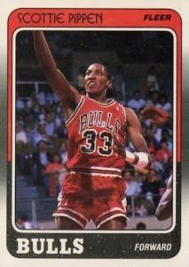 1988-89 Fleer Scottie Pippen RC #20