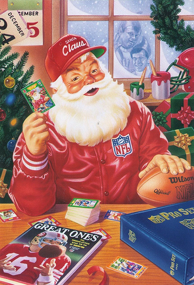 Pro Set Santa Claus Cards Continue to Bring Christmas Cheer 16