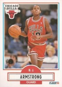 1990-91 Fleer B. J. Armstrong RC #22