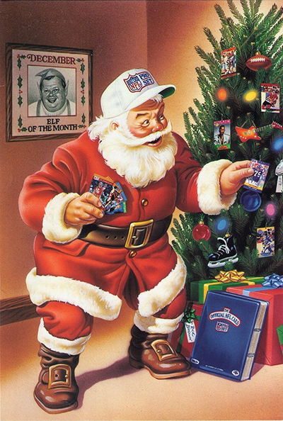 Pro Set Santa Claus Cards Continue to Bring Christmas Cheer 17