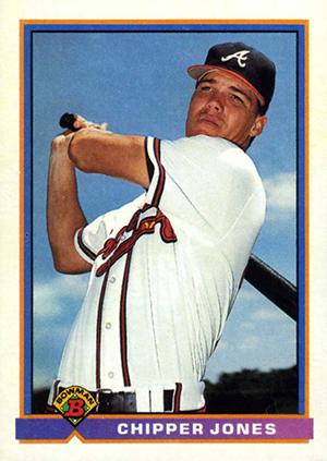Cooperstown Awaits! Top 10 Chipper Jones Baseball Cards 1