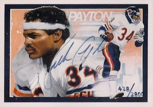 Sweetness! Top 10 Walter Payton Cards of All-Time 9
