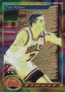1993-94 Finest Toni Kukoc RC #14