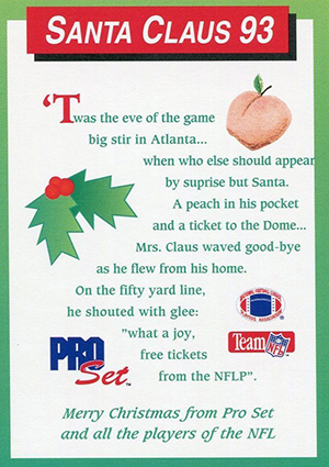 Pro Set Santa Claus Cards Continue to Bring Christmas Cheer 13