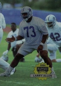 1994 Playoff Larry Allen RC #300