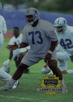 Top 1990s Football Rookie Cards 10