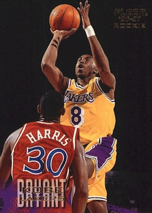 1996-97 Fleer Kobe Bryant RC #203