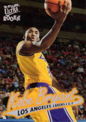 1996-97 Fleer Ultra Kobe Bryant RC #52