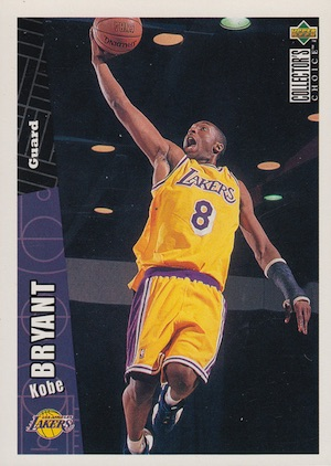 1996-97 UD Collector's Choice Kobe Bryant RC #267