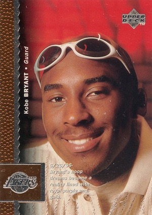 1996-97 Upper Deck Kobe Bryant RC #58