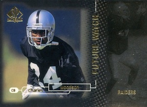 1998 SP Authentic Charles Woodson RC #23