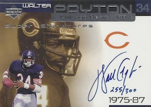 Sweetness! Top 10 Walter Payton Cards of All-Time 13