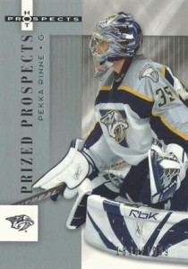 Pekka Rinne Rookie Cards Guide 1
